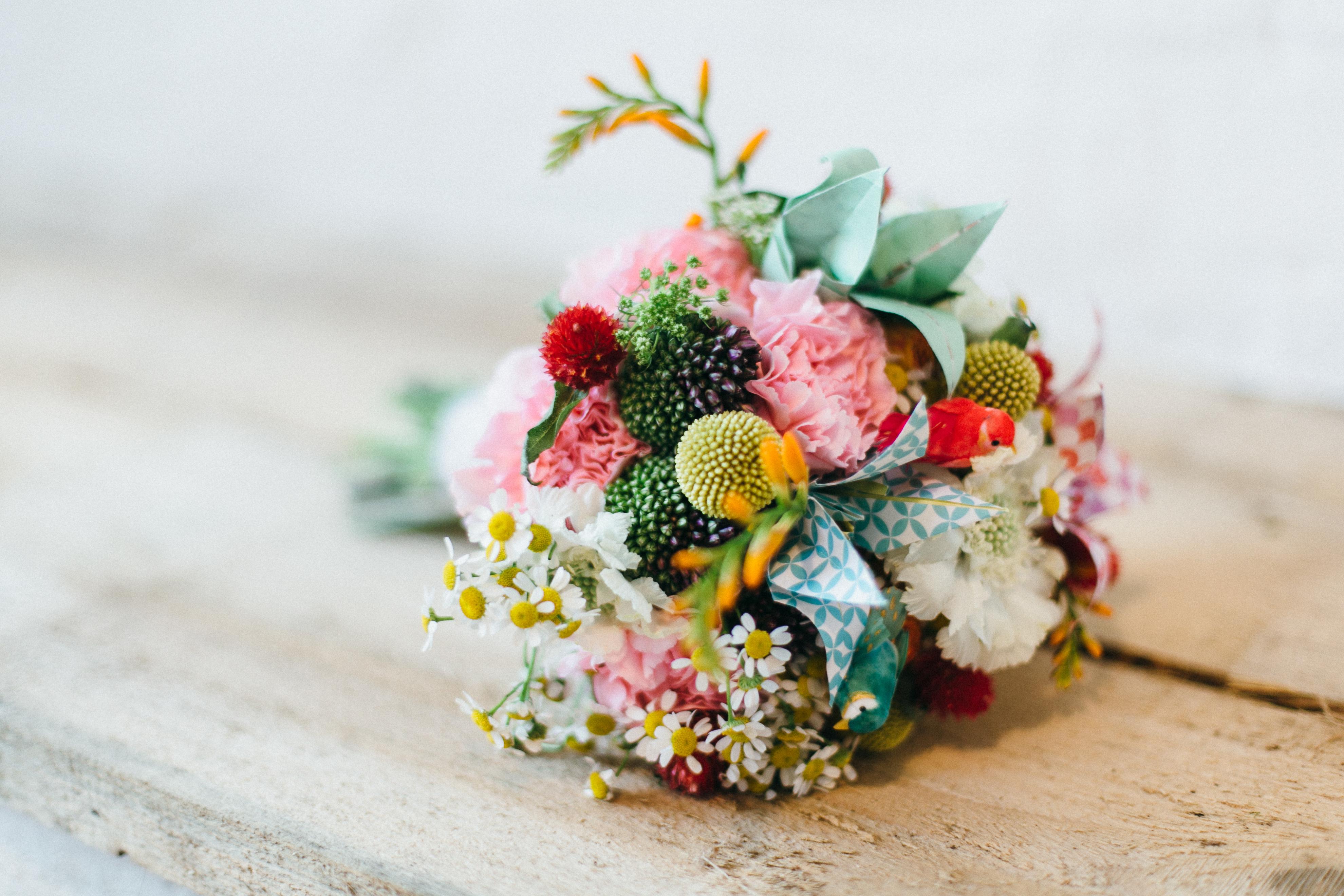 Brautstrauß Geld sparen Hochzeit