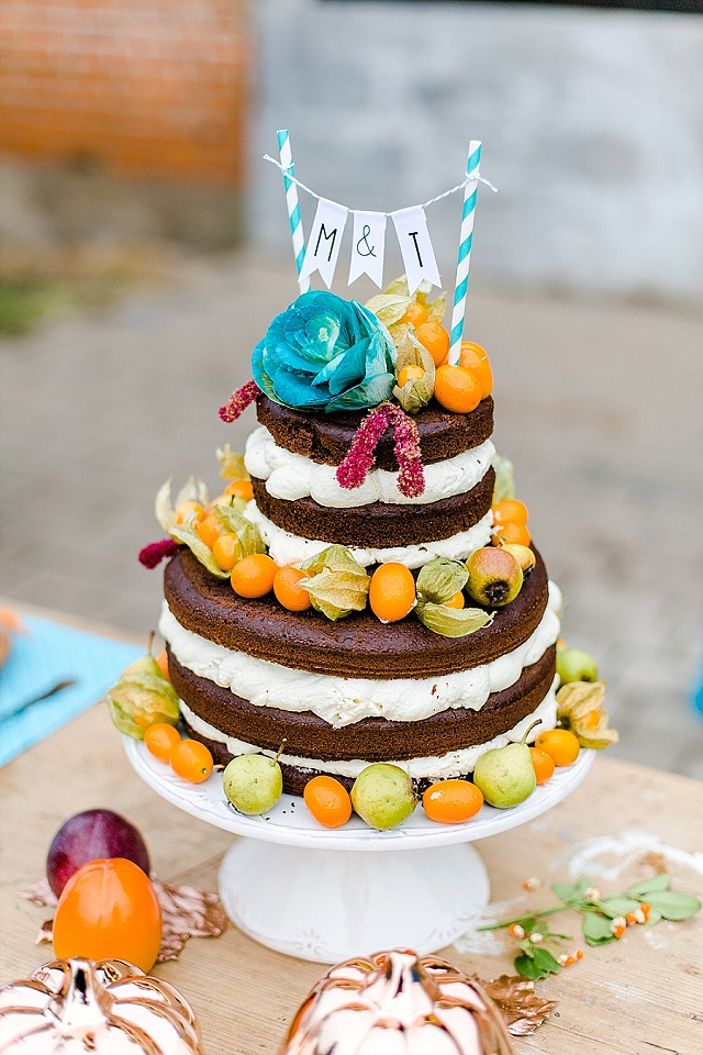 Naked Cake Physalis