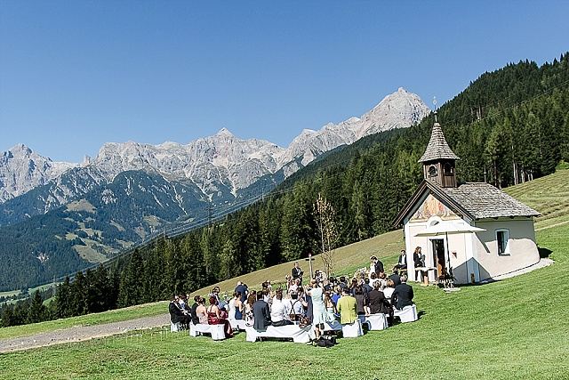 Berghochzeit Österreich