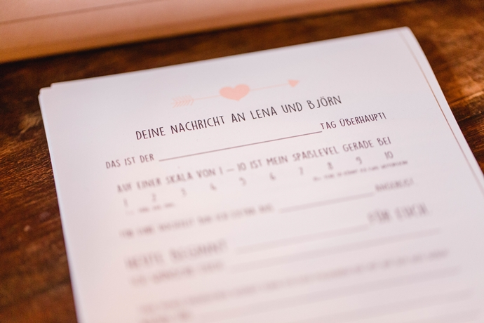 Hochzeit Alternative Gästebuch
