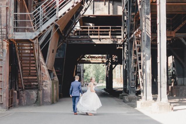 Schicke DIY Hochzeit in Duisburg von Bina Terré