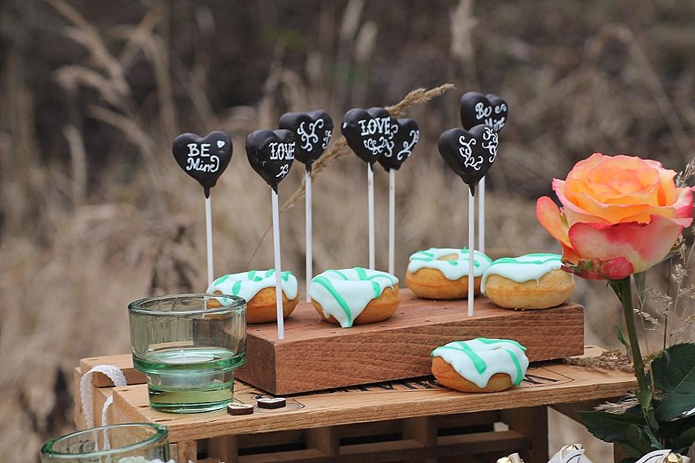 Hochzeit Donuts