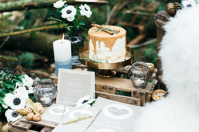 Sweet Table Winterhochzeit