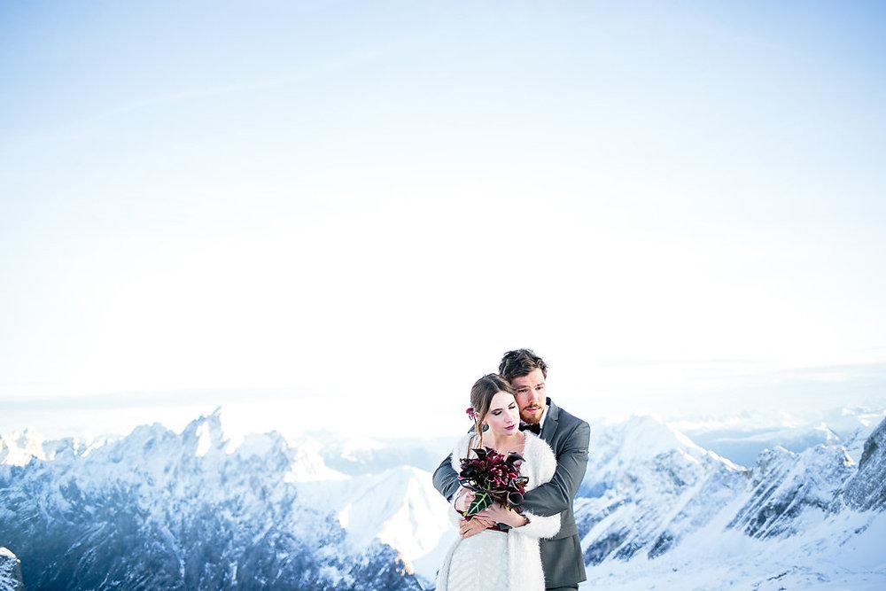Winter Love – Elegante Winterhochzeit auf der Zugspitze