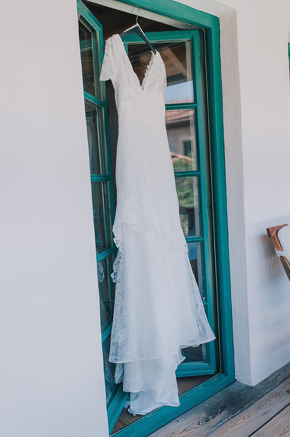 Gartenhochzeit Brautkleid