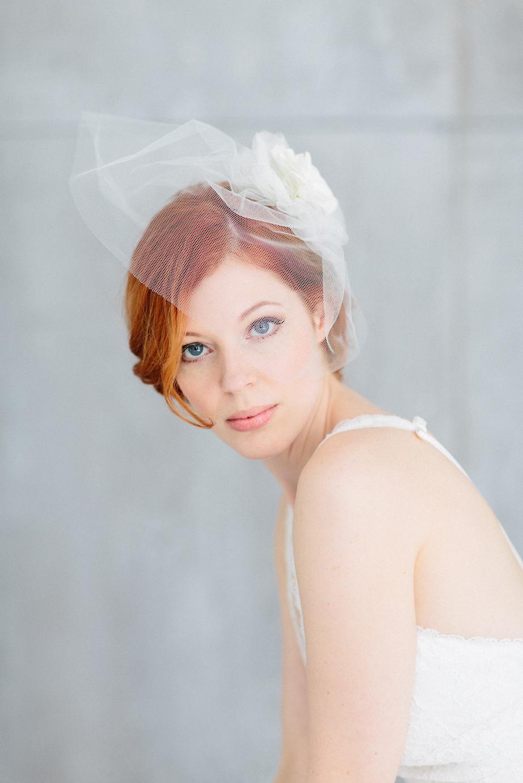 BelleJulie Kopfschmuck Hochzeit Schleier