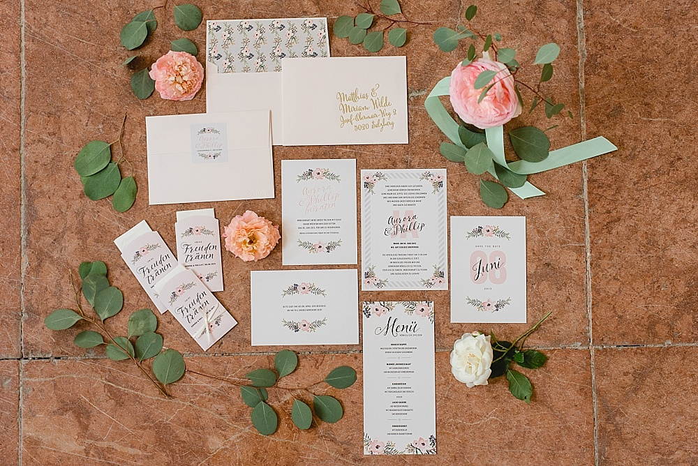 Hochzeitspapeterie Project Pinpoint
