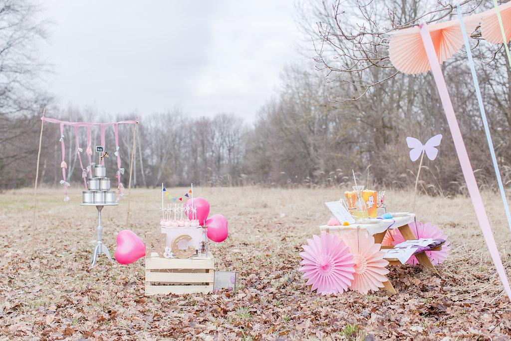 Hochzeit Kindertisch Dekoration