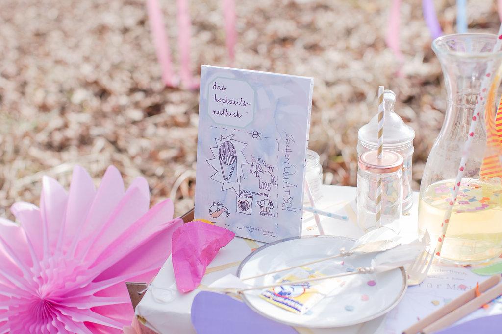 Malbuch Hochzeit Kinder