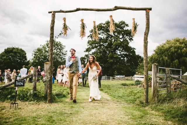 grüne Hochzeit nachhaltig ökologisch heiraten