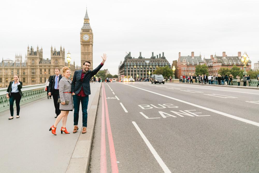 Von Big Ben nach Exmouth Market: Urban-schicke Hochzeit in London