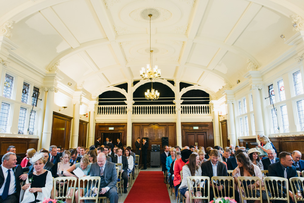 old finsbury town hall wedding photography london quirky alternative photographer-39