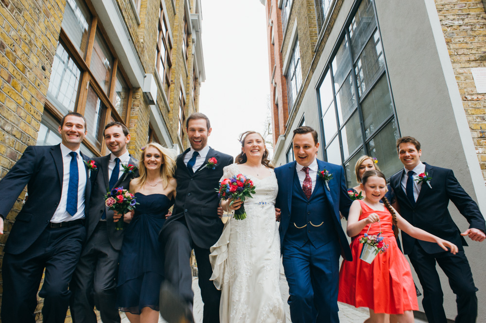 old finsbury town hall wedding photography london quirky alternative photographer-61