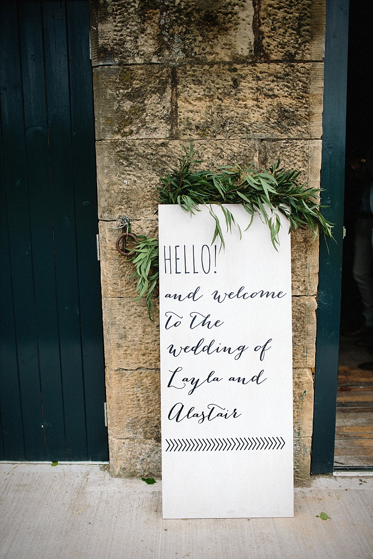 Hochzeit Begrüßungstafel