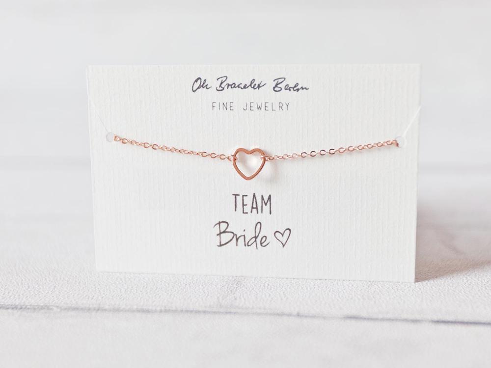 Team bride schicke tattoos und schmuck von oh bracelet for Armband fa r beste freundin