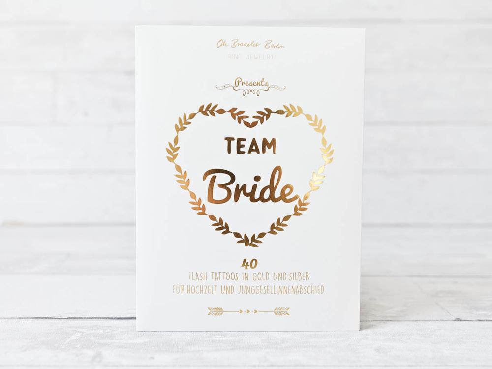 Team Bride! Schicke Tattoos und Schmuck von Oh Bracelet Berlin