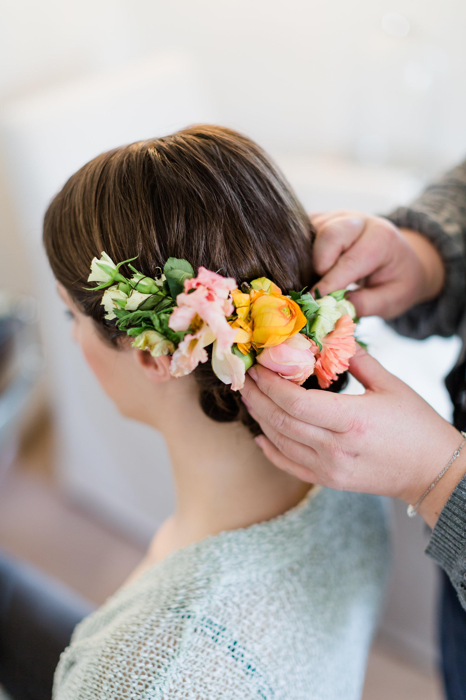 Blumenhaarkranz Hochzeit