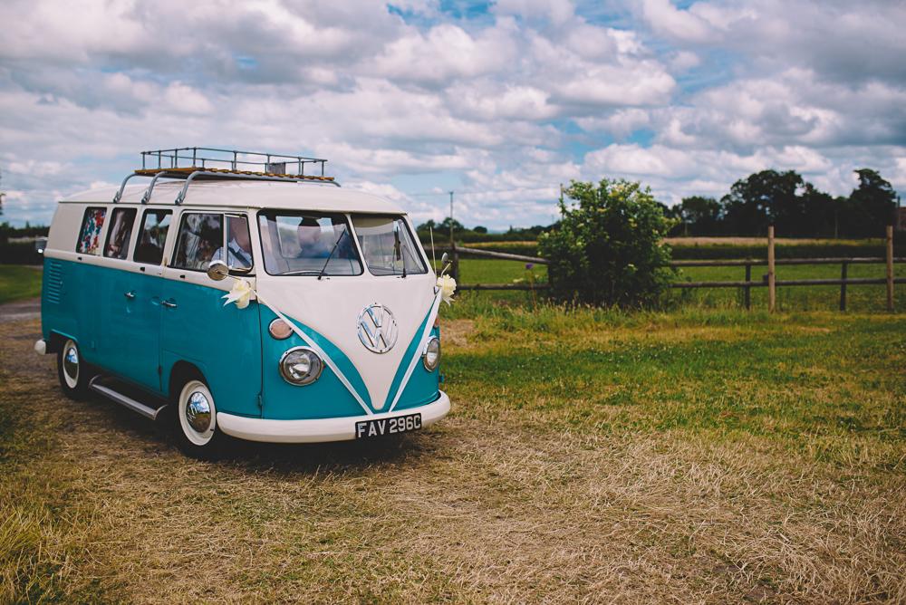 Hochzeit VW Bulli