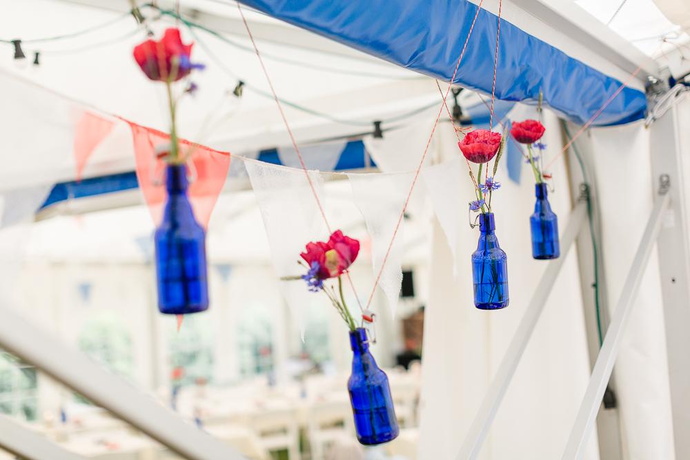 Gartenhochzeit Vasen
