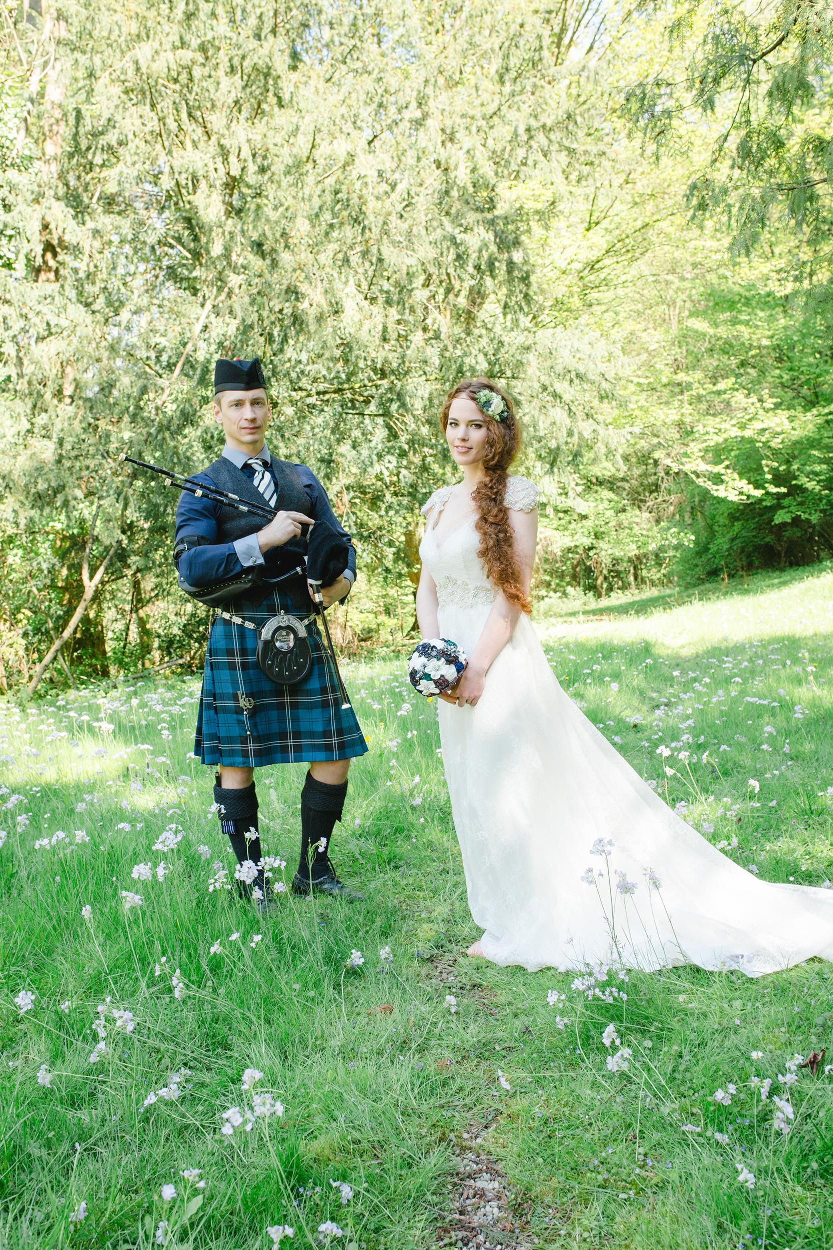 schottische Highland Hochzeit
