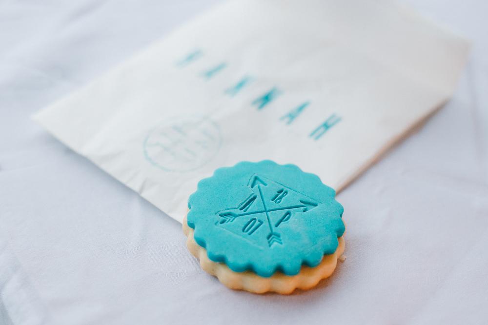 Gastgeschenk Hochzeit Cookie