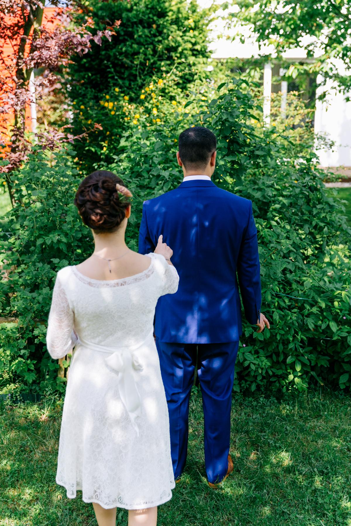 schwanger heiraten Brautkleid