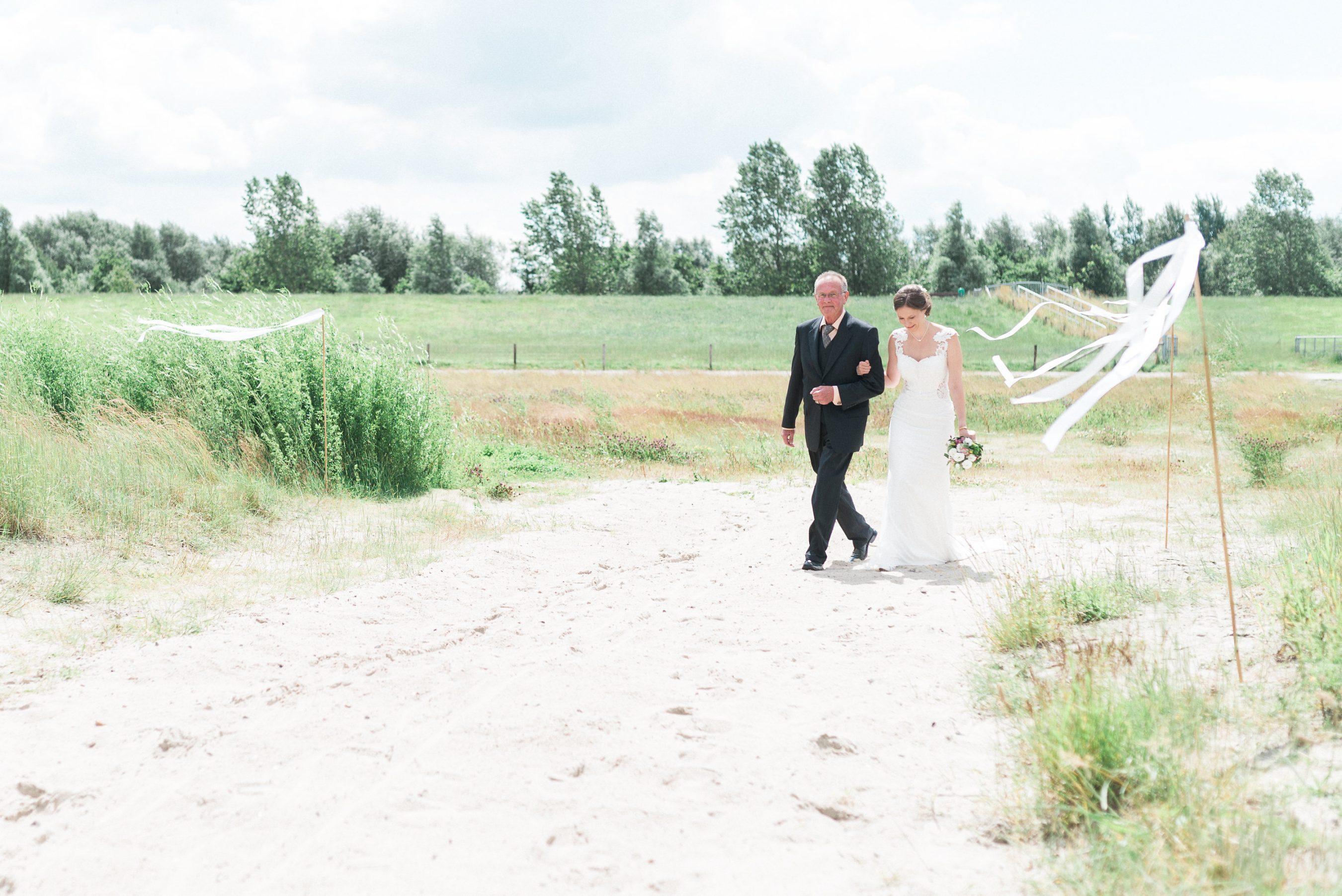 Hochzeit am Strand Hooksiel