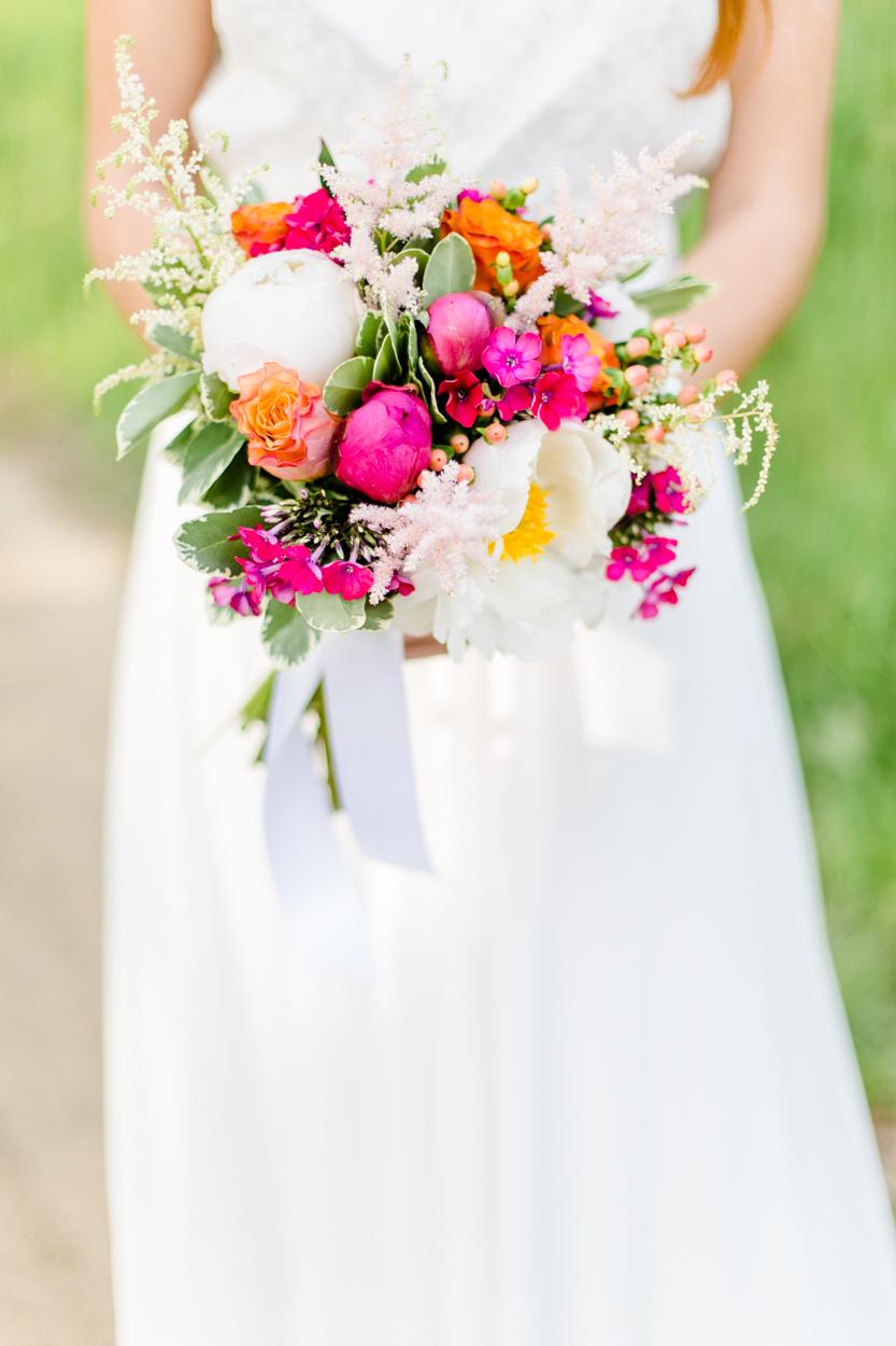 Brautstrauß Sommer