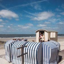 Strandhochzeit trifft Gartenparty auf Norderney