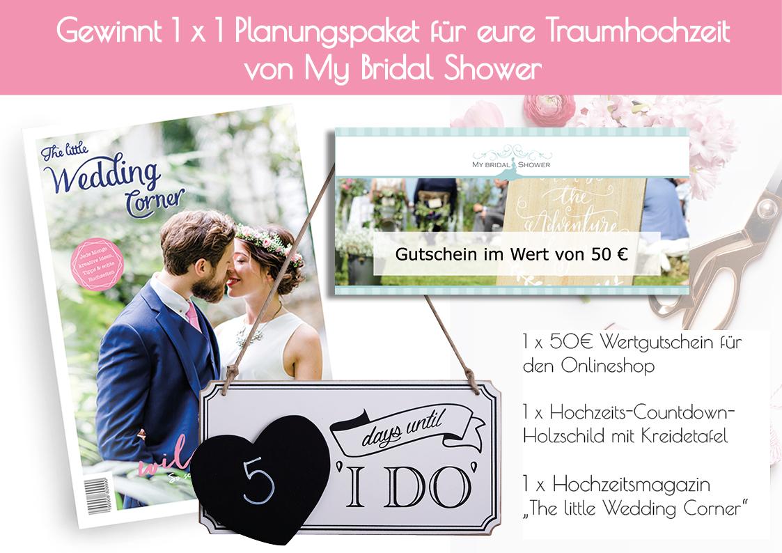 My Bridal Shower Gewinnspiel Magazin Launch Planungspaket_Web