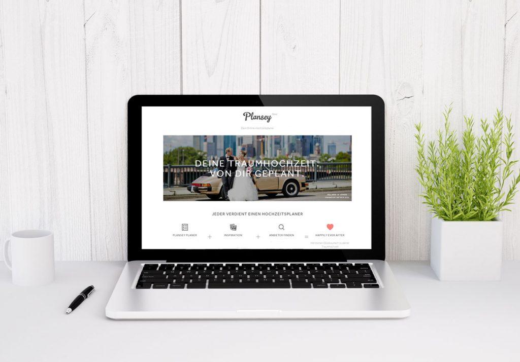 Eure Hochzeit online planen und organisieren mit Plansey