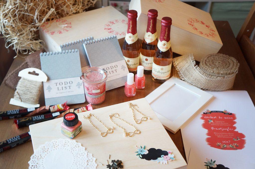 Willst du meine Brautjungfer sein? Eine DIY Überraschungsbox