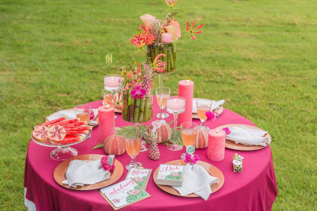 10 Ideen für eure Tischdekoration und Tipps – Teil 1