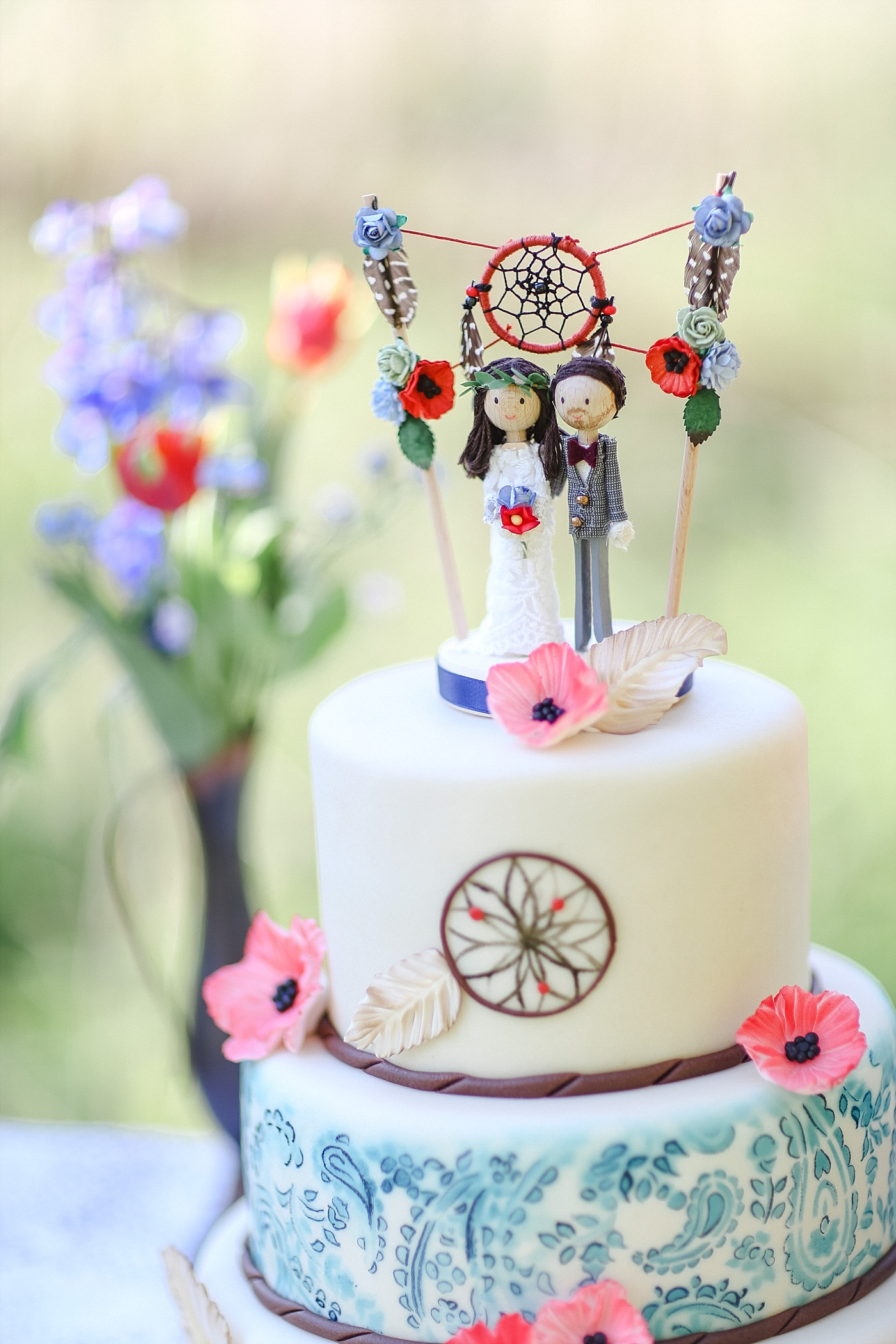 Cake Topper Boho