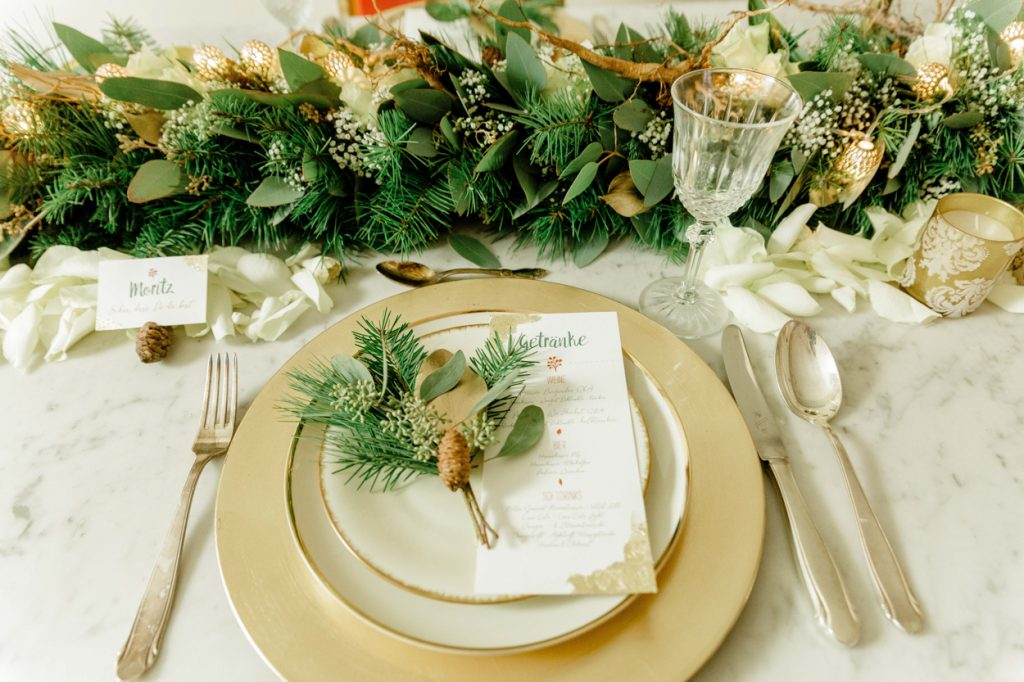 Winterliche Hochzeitsinspirationen und Bride Event