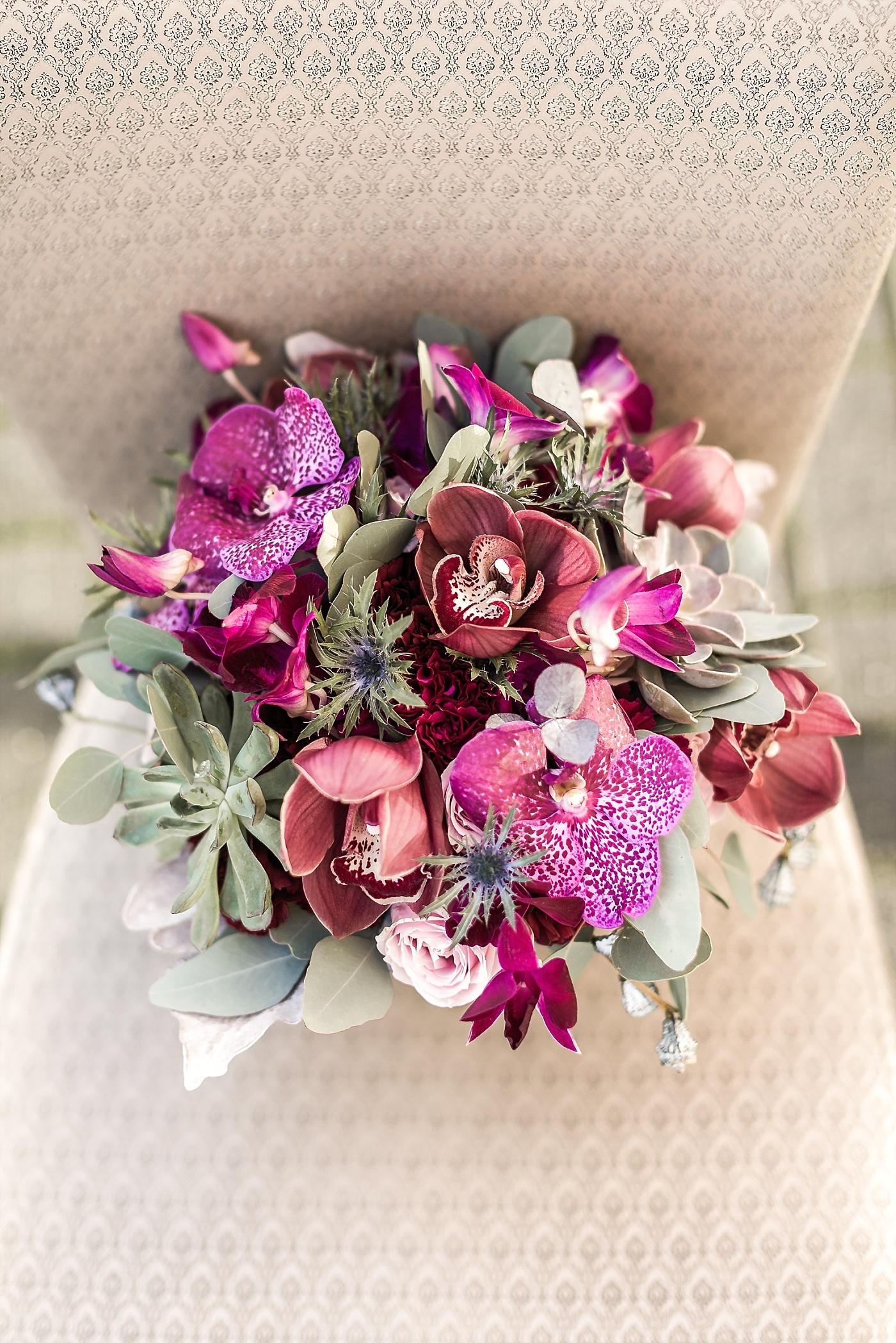 Brautschmuck Orchidee
