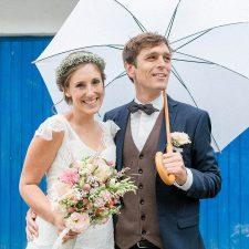 Lässig-bunte DIY Hochzeit