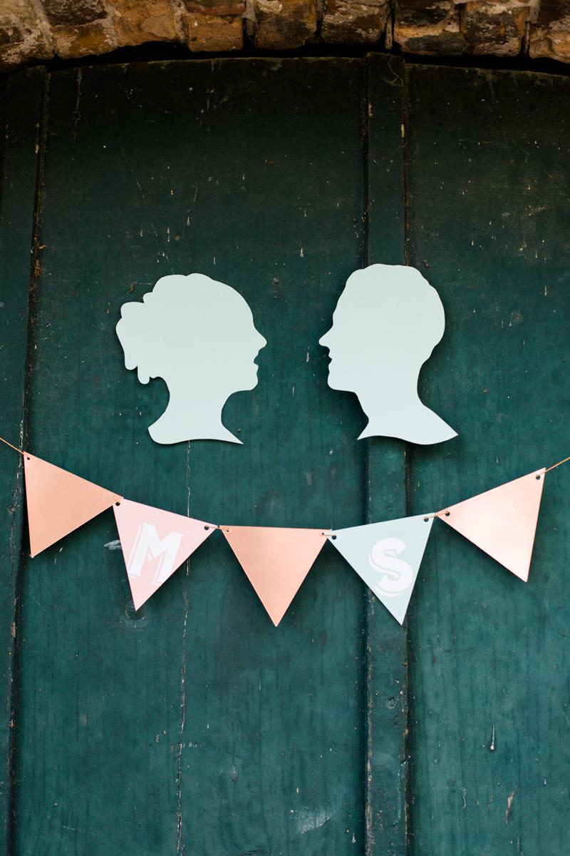Hochzeit Scherenschnitt