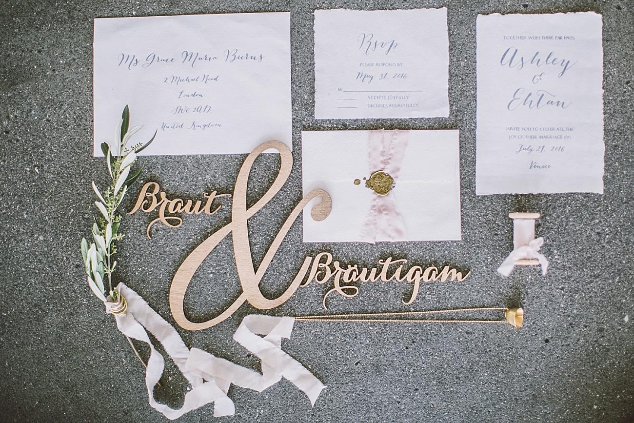 Hochzeit Kalligrafie