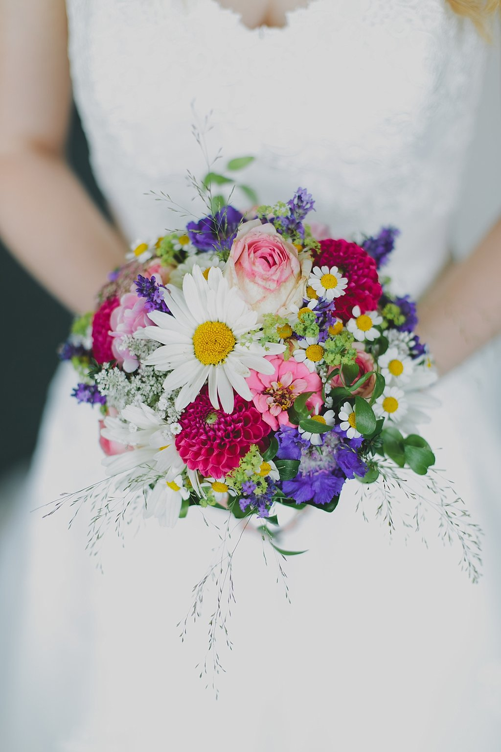 Brautstrauß Sommerblumen