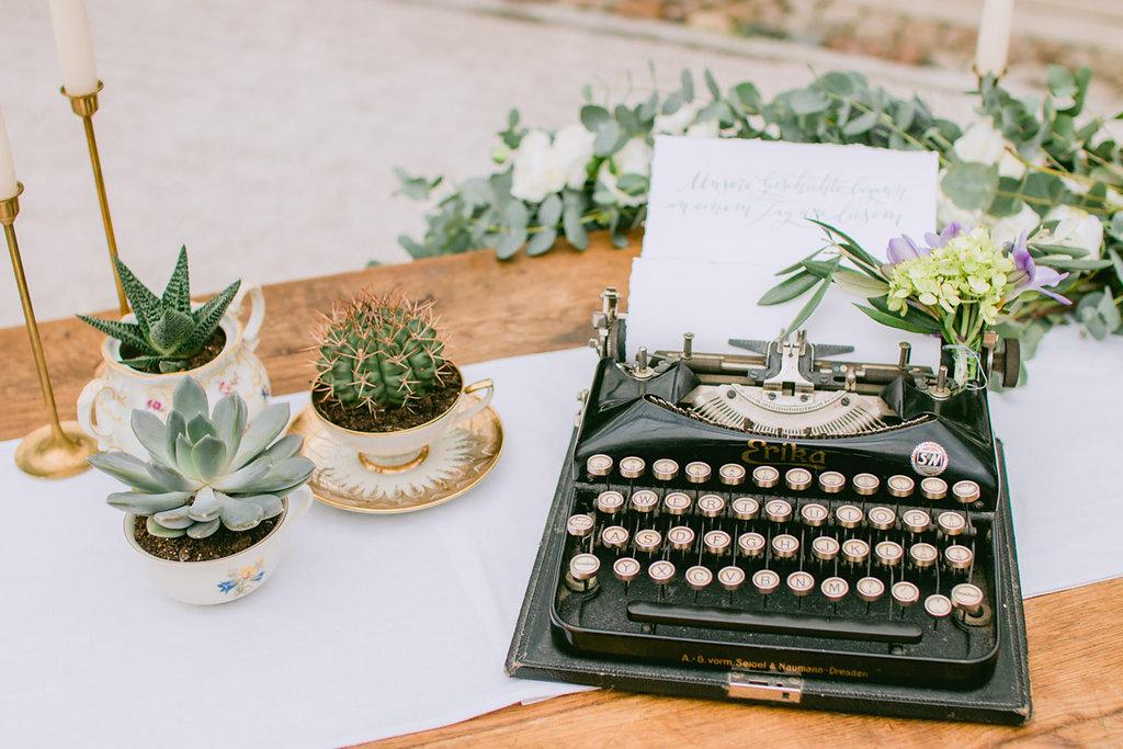 Gastgeschenke Hochzeit Sukkulenten