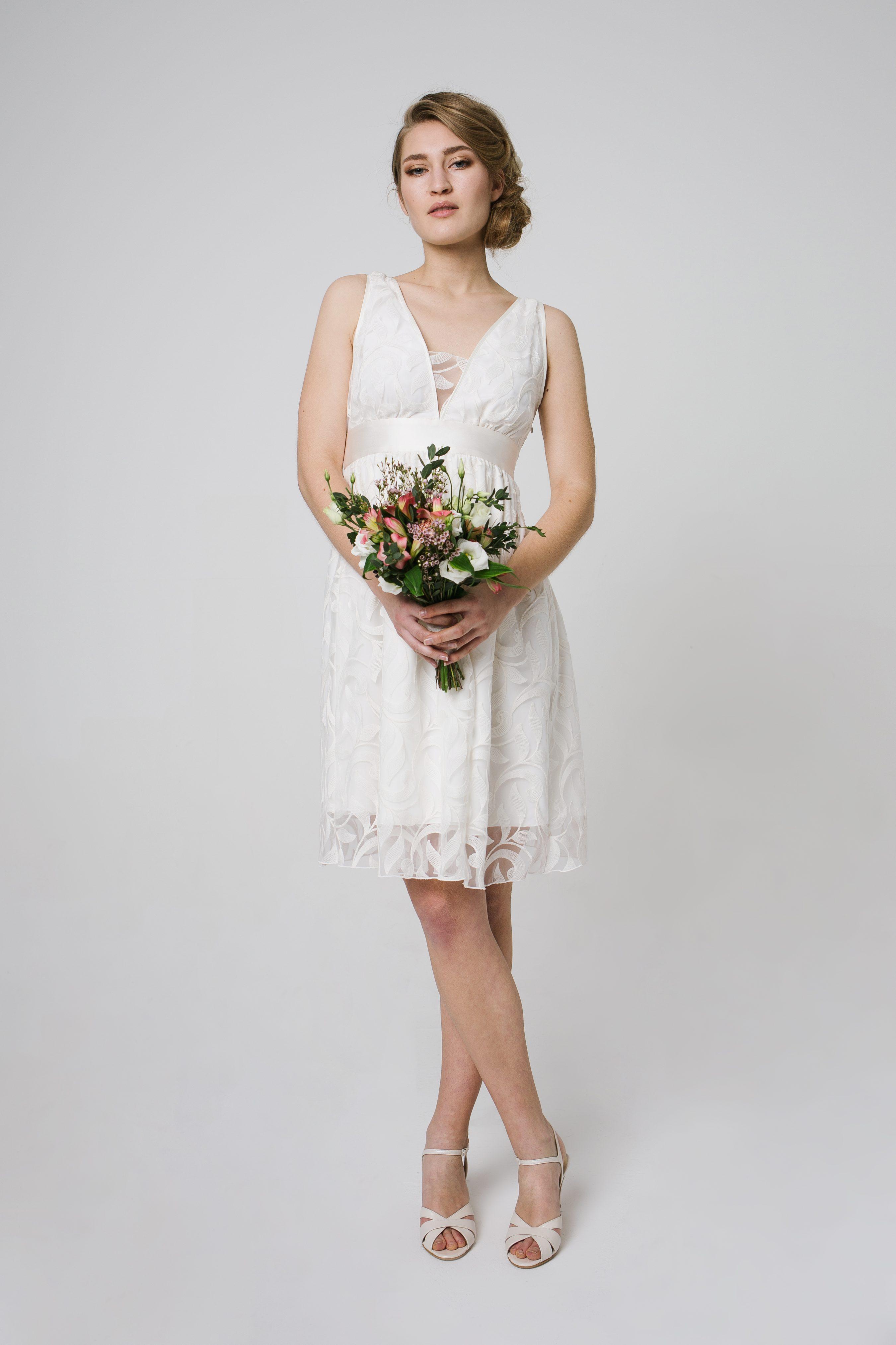 Brautkleid kurz Standesamt