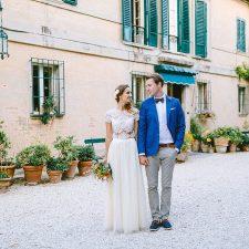 Mediterrane destination Wedding in Italien