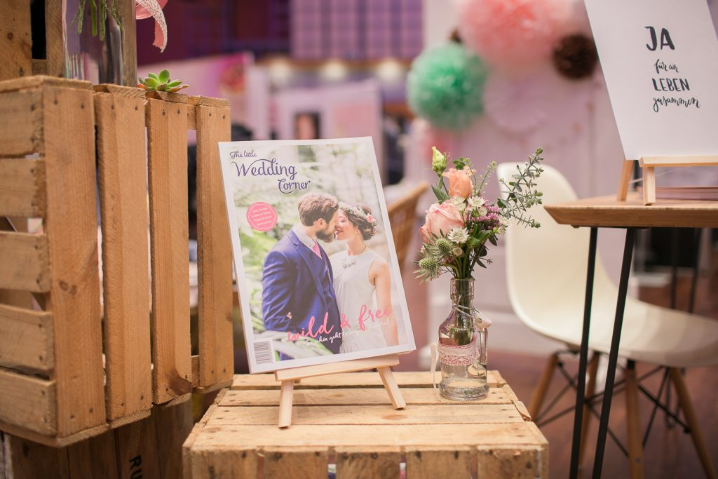 Die kleine Hochzeitsecke auf der Hochzeitsmesse Braunschweig