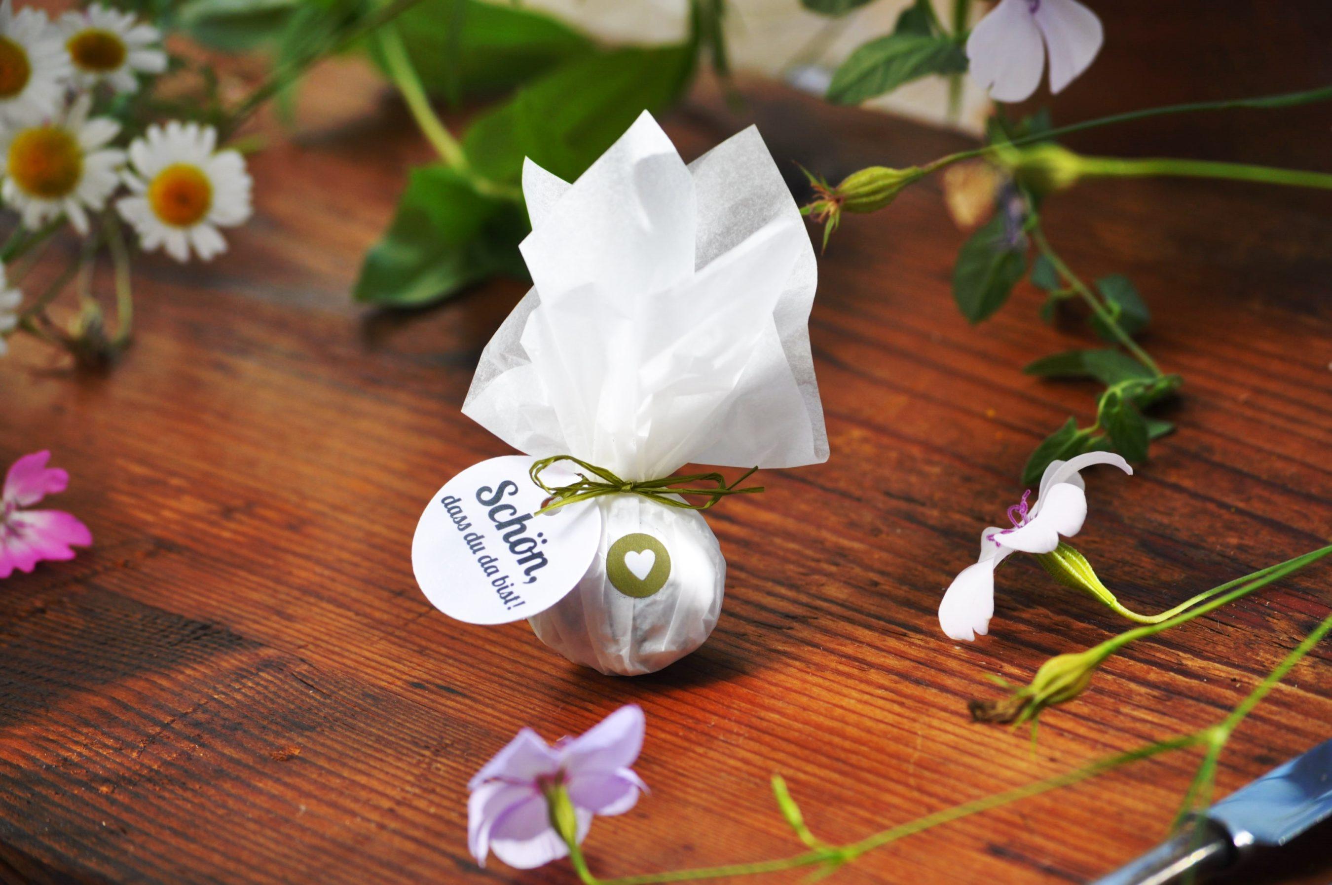Grüne Gastgeschenke Samen en von Seedball Manufaktur