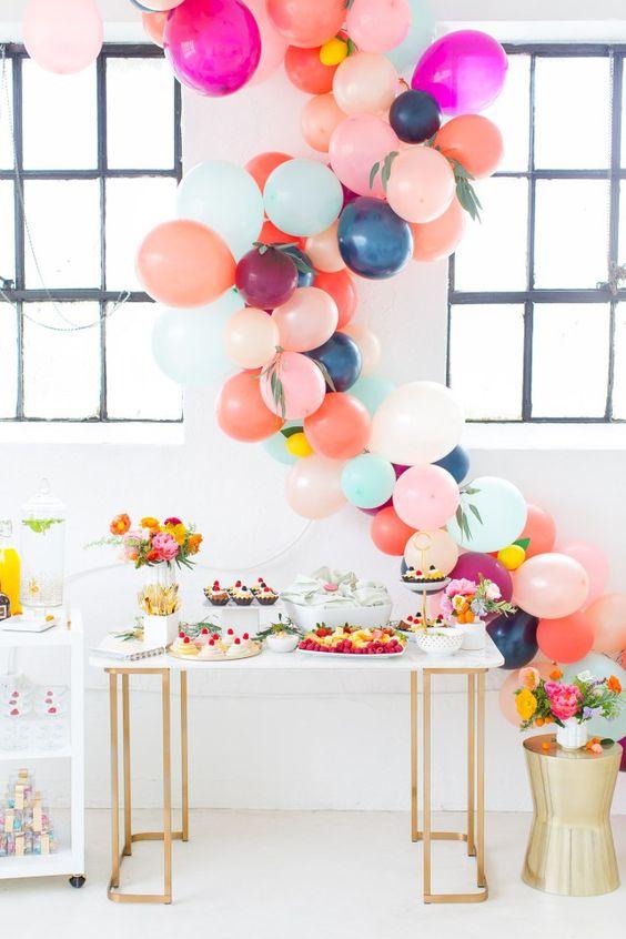 Trend 2017 2018 Dekorieren Mit Luftballons