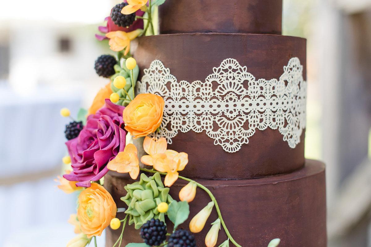 ... mit liebevoller Dekoration  Hochzeitsblog The Little Wedding Corner