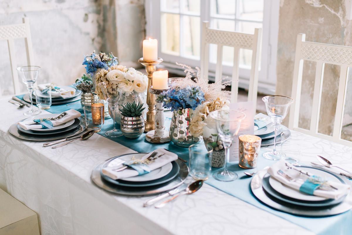 table decoration Vintage wedding