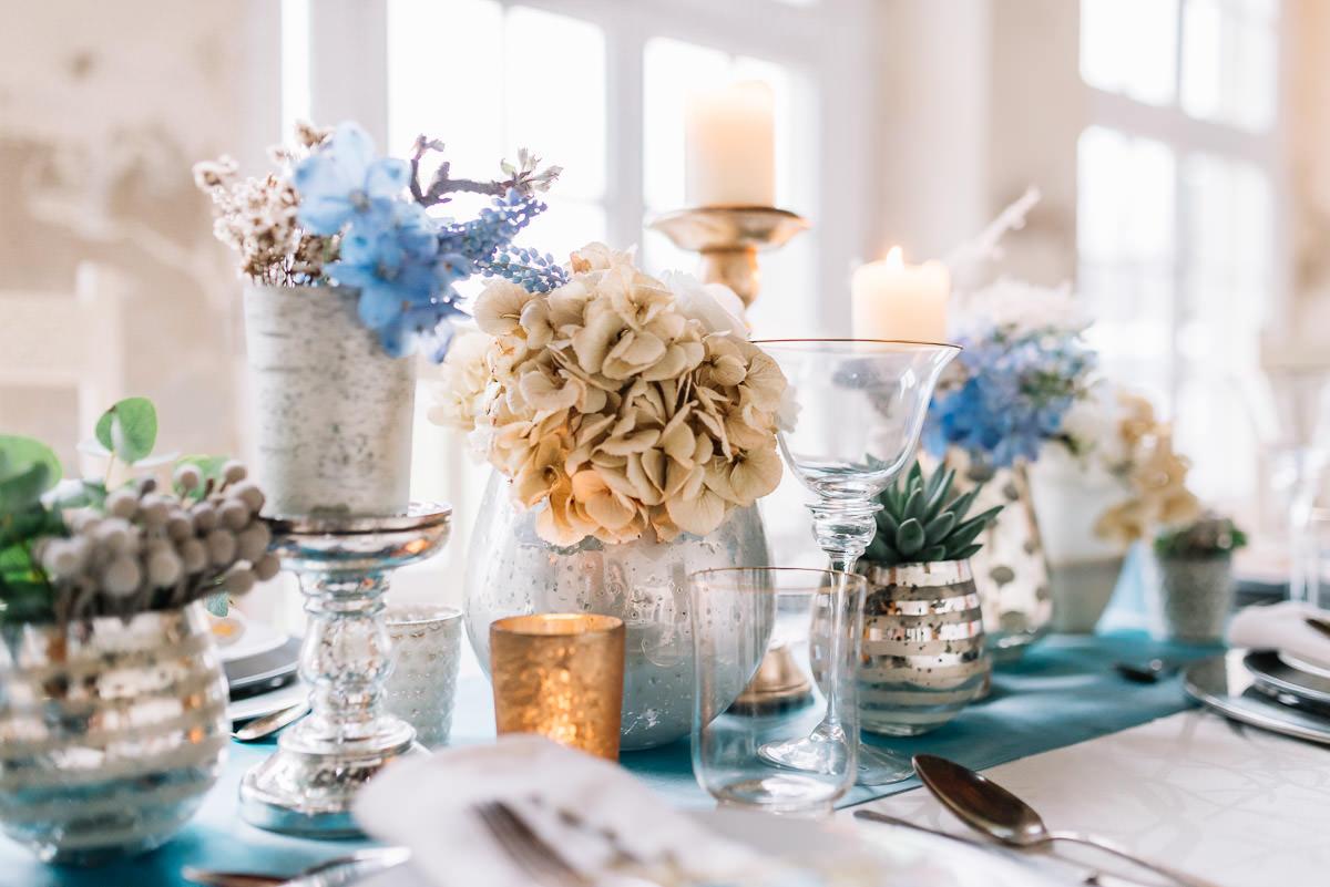 Hochzeit getrocknete Blumen