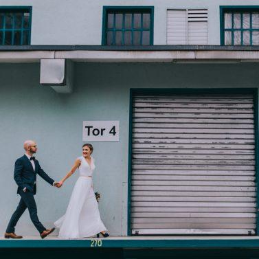 Liebe rockt! Urbane Hochzeit mit Festival Flair